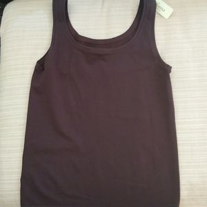 Soma by Chico's seam free camisole, brown, m, nwt